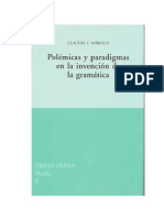 Libros Polémicas y paradigmas