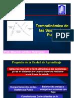 Curso Termodinamica de Las Sustancia Puras