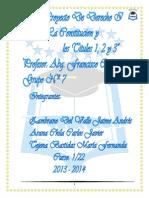 La Constitucion- Libro I, II, III. # 7