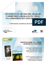 V Encuesta Nacional de la Juventud - Presentación Injuv