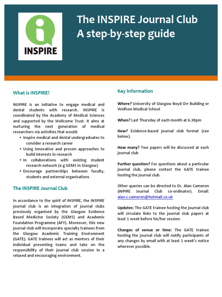 Inspire journal club guidepdf randomized controlled trial inspire journal club guidepdf randomized controlled trial medicine pronofoot35fo Image collections