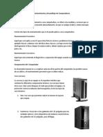 Manual de Mantenimiento de PC
