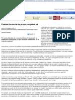 EyN_ Evaluación social de proyectos públicos