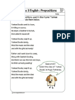 Preposition Song PDF