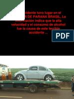 Accidente fatal (decapitación)
