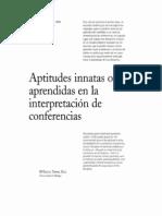 Aptitudes innatas o aprendidas en la interpretación de conferencias  (1).pdf