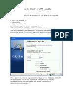 Tutorial de integración de drivers SATA con nLite