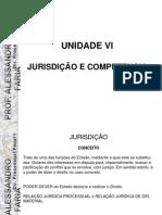 UNIDADE VI - JURISDIÇÃO E COMPETENCIAL