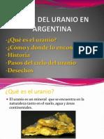 Ciclo de Uranio en Argentina