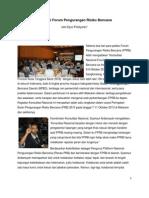 Reposisi Forum Pengurangan Risiko Bencana