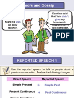 Reported Speech Intermediate