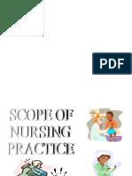 Scopes of Nursing Practice