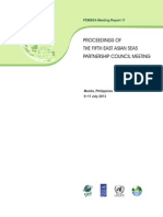 Proceedings of the Fifth East Asian Seas Partnership Council Meeting