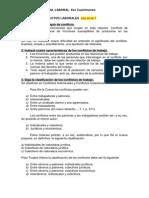 Derecho Procesal Laboral AUTOEVALUACIÓNes  8vo Cuatri