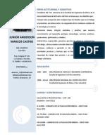 Curriculum Vitae Anderson Marcos