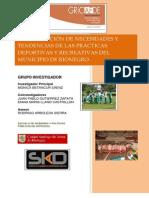 Encuesta de Actividad Deportiva