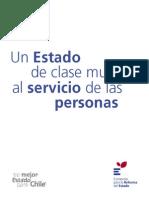 Un Estado de Clase Mundial Al Servicio de Las Personas