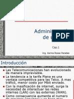 Cap.1 Administracion de Redes