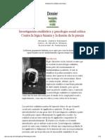 Investigación cualitativa y psicología