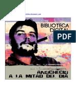 Biblioteca Digital. Anochecioalamitaddeldia