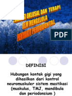 Oklusi - Drg Noer