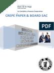 Crepe Paper & Board Sac