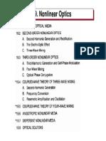 P19 Nonlinear Optics