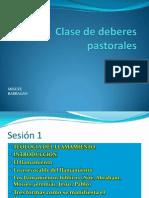 1. Clase de Deberes Pastorales