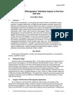 TD.2.1 Oberg Performance Ethnography