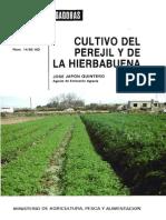 Cultivo Del Perejil y La Hierbabuena