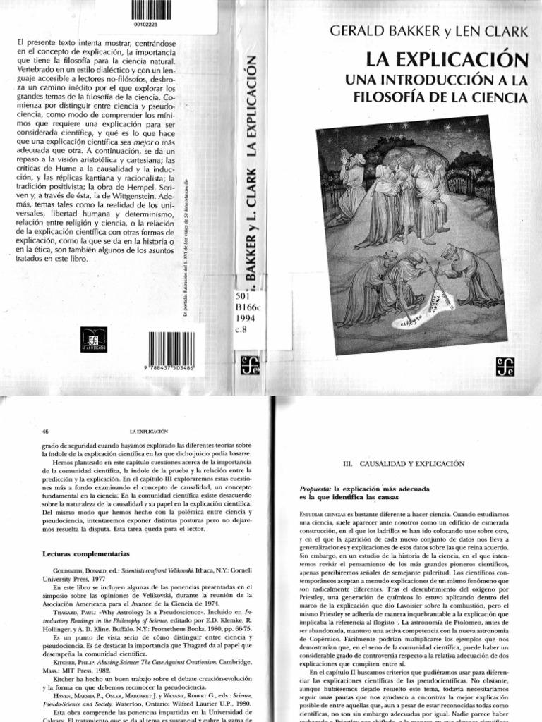 Bakker, Gerald y Clark, Len - La Explicación, una introducción a ...