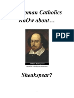 Do RCs KnOw Shakespear aka Francis Bacon aka St Germain Worked for the church?