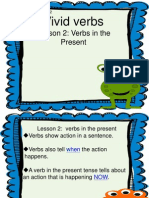 lesson2 verbs in the present
