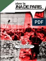Sobre la Comuna de Paris. Textos de la Internacional situacionista.