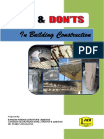 Completed Do's & Don'ts in Building Construction.docx