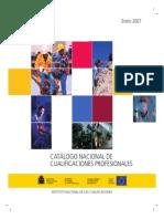 Catalogo Nacional Cualificaciones Espana