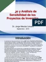 Riesgo y Análisis de sensibilidad de los Proyectos