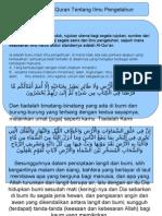 Konsep Al-Quran Tentang ILMU Pengetahuan.ppt