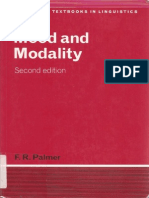 Mood and Modality - F.R. Palmer (2001)