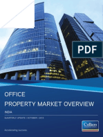 INDIA OFFICE PROPERTY MARKET OVERVIEW OCTOBER 2013