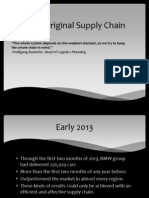 bmw supply chain now