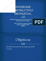 SINDROME OBSTRUCTIVO BRONQUIAL