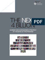 The Next 4 Billion Market Size and Business Strategy at the Base of the Pyramid