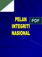 Pelan Integriti Nasional