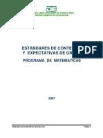 Estándares y Expectativas de Matemáticas 00 - Introduccion