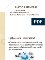 Tema 1 - Informática general