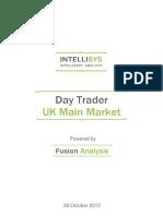 day trader - uk main market 20131028