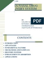 Naleen Bhandari, Intranasal medication delivery overview.ppt