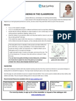 tip sheet promoting understanding in the classroom