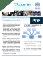 2013 DaO Operational Reform Key Results